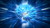 futuristic : Digital Brain 3 Stock Footage