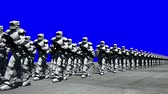 placage : Space Opera: Troopers Marching (Blue Screen)