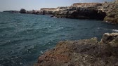 sea bay : Rocky coast on the Black Sea, Bulgaria, Tyulenovo