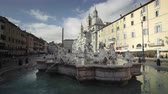 church : fountain on Piazza Navona, Rome, Italy