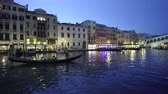 Grand Canal in sunset time from Rialto Bridge, Venice, Italy