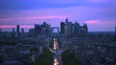 triunfar : La Defense, business district in Paris, France