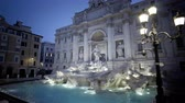 logotipo : Trevi fountain in Rome