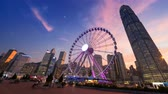 hong kong : hyper lapse, Observation Wheel, Hong Kong
