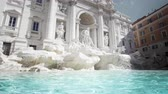 Fountain di Trevi in ??Rome, Italy