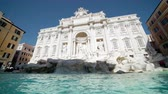 kolumna : Fountain di Trevi in Rome, Italy Wideo