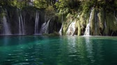 croácia : waterfall in forest Plitvice Lakes National Park, Croatia