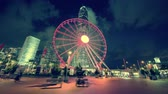 carrossel : hyper lapse, Observation Wheel, Hong Kong