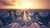 파리 : Paris view from Arc de Trimphe, France