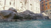 파리 : Fountain di Trevi in Rome, Italy 무비클립