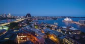 south australia : Aerial view of Sydney with Harbour Bridge and the Opera House, Australia