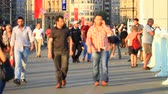 jednotnost : ISTANBUL  OCT 17: People on the Galata Bridge on October 17 2012 in Istanbul Turkey. The bridge is the major strolling and tourism center in city. Crowd of people walk on the Galata Bridge. Defocused view. Defocused people walking