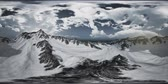 stupeň : VR 360 Norway Mountains Severe Landscape