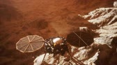 orbe : Insight Mars exploring the surface of red planet