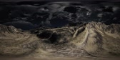 plantas : VR 360 Huge Dark Clouds over Scottish Highlands