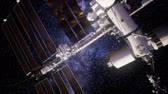 spacecraft : International Space Station in outer space