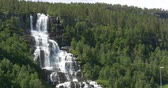 hardanger : 4K, Norway, Epic and beautiful waterfall