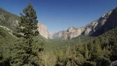 montanha : Yosemite National Park, United States - Graded and stabilized version. Watch therefore for the native material, straight out of the camera. Stock Footage
