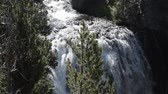 kamie�� : Kepler Cascades, Yellowstone National Park, United States - Native Material, straight out of the cam, watch also for the graded and stabilized version.
