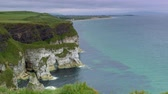 Cliffs At The Magheracross Viewpoint, Northern Ireland - Graded Version