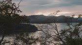 trees : View Onto Bahia Culebra, Costa Rica, Graded Version Stock Footage