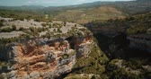 rokle : Aerial, Barranco De Argatin At Rio Vero, Pyrenees, Spain - graded Version