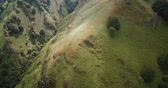 aquitaine : Aerial, Col D Aintziaga, Spanish-French Border, Pyrenees, Spain - graded Version
