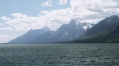 yellowstone : Shoshone Lake, Yellowstone National Park, Wyoming, United States, graded Stock Footage