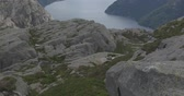 north stream : The Preikestolen, Norway