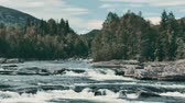 rapid : Wild River Stream In Norway - Graded Version