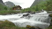 seção : Wild River Stream In Norway - Native Version