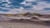 antofagasta : Time Lapse, Salt Lake At Paso Sico, Chile