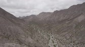 Aerial, Part Of The Andes In Argentina - native 10 Bit (HLG) Stock Footage