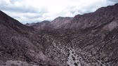Aerial, Part Of The Andes In Argentina - cine version Stock Footage