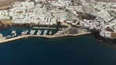 ランサローテ : Aerial View Puerto Del Carmen, Canary Islands, Spain