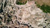 rooftop : Top view of ancient town of Matera Sassi di Matera in sunny day, Basilicata, southern Italy