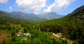 boğa : The Taurus Mountains. Mount Tahtali Olympos in the province of Antalya, Turkey