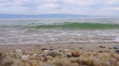 Small waves on Lake Baikal