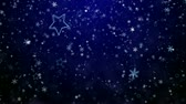 摘要 : Snowflakes and stars. New Years - the Christmas background 影像素材