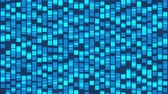 оказывать : Abstract blue cubes background