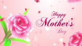 Happy Mothers Day intro Stock Footage