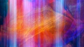 kubus : Abstract Blue and Orange Scene with Light - 4K Seamless Loop Motion Background Animation Stockvideo