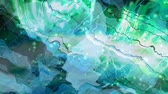 ゆがんだ : Fast Green Electric Thunderbolts and Abstract Wavy Distortion - 4K Seamless Loop Motion Background Animation 動画素材