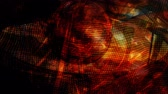 Dark Orange Mesh Zooming In and Out on Abstract Texture - 4K Seamless Loop Motion Background Animation