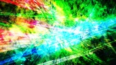 туманность : Slow Shifting Rainbow Outer Space Laser Light Show with Stars - 4K Seamless Loop Motion Background Animation