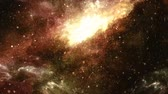 туманность : Asteroid Belt Meteor Shower and Nebula Galaxy Particles - 4K Seamless Loop Motion Background Animation