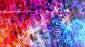 Abstract Red and Blue Complicated Panning Texture - 4K Seamless Loop Motion Background Animation