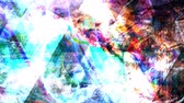 Vivid Dark Psychedelic Art Colors Rotating Clockwise - 4K Seamless Loop Motion Background Animation