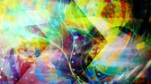 deslumbrante : Wavy Colorful Abstract Art Painting - 4K Seamless Loop Motion Background Animation Vídeos