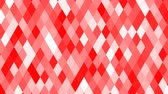 Christmas Red Peppermint Holiday Wallpaper Decoration Pattern - 4K Seamless Loop Motion Background Animation 動画素材